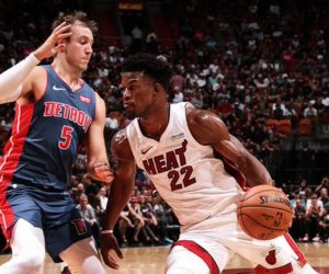 Heat mantiene racha imparable en casa ante Pistons (Videos)