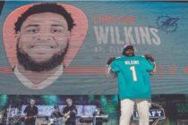 Christian Wilkins fue seleccionado en primera ronda del draft 2019 por Dolphins
