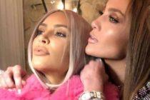 ¡Duelo de titanes! Kim Kardashian y Jennifer López en un choque de publicidad