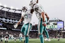 La derrota de los Patriots ante Miami los puede dejar fuera del Super Bowl