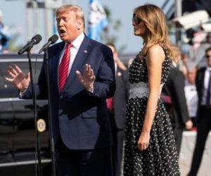 ¡Con entrada triunfal! Trump acudió y presentó la carrera Daytona 500 de Florida +Vídeos