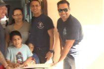 ¡Muchos ayudan! Departamento de Bomberos de Hialeah colaboró con 50 familias por el Día de Acción de Gracias