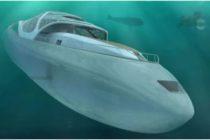 Conoce a 'Caparazón' el yate futurista que se transforma en submarino +Fotos