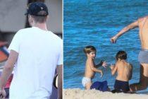 Un merecido descanso: Shakira, Piqué e hijos pasan su tiempo libre en Miami Beach +Vídeo