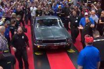 ¡El más caro! Ford 'Bullitt' Mustang se vende por $3.74 millones en una subasta de Florida +Vídeo