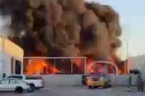 Bomberos de Miami-Dade extinguieron incendio en refinería de Doral +Vídeo