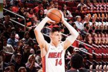 Miami Heat derrotó a Warriors y se afianza en puestos de Playoffs en la NBA +Vídeo