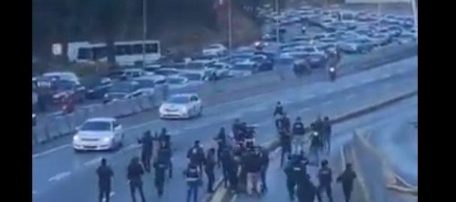 Altercado entre las fuerzas del orden público en Venezuela dejó un supervisor de las FAES detenido +Vídeos
