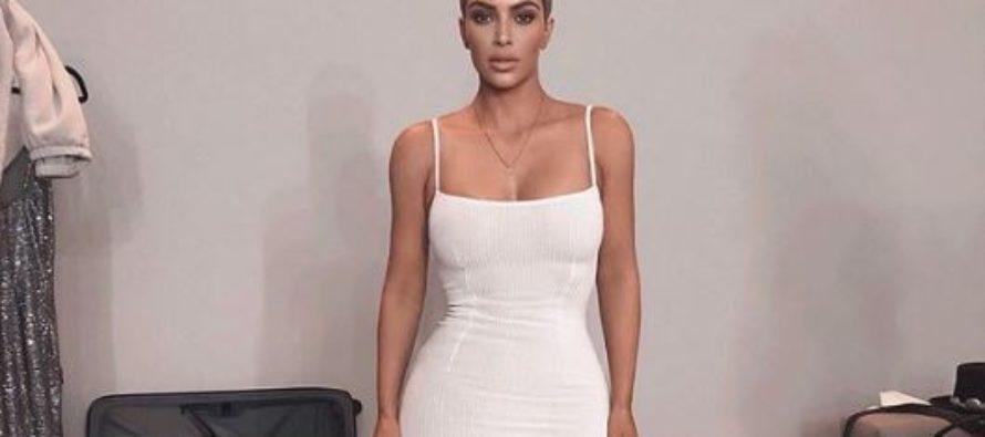 ¡Sin ropa interior! La foto de Kim Kardashian que dejó boquiabiertos a sus fans +Imagen