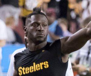 Emiten orden de aprehensión contra el jugador de la NFL Antonio Brown