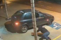 ¿Los ladrones más tontos del mundo? El vídeo donde tres antisociales fracasaron en su plan de robar un televisor +blooper