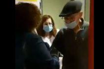 ¡Conmovedor! En España un abuelito de 86 años venció al COVID-19 y grabaron el emotivo momento de su alta médica +Vídeo
