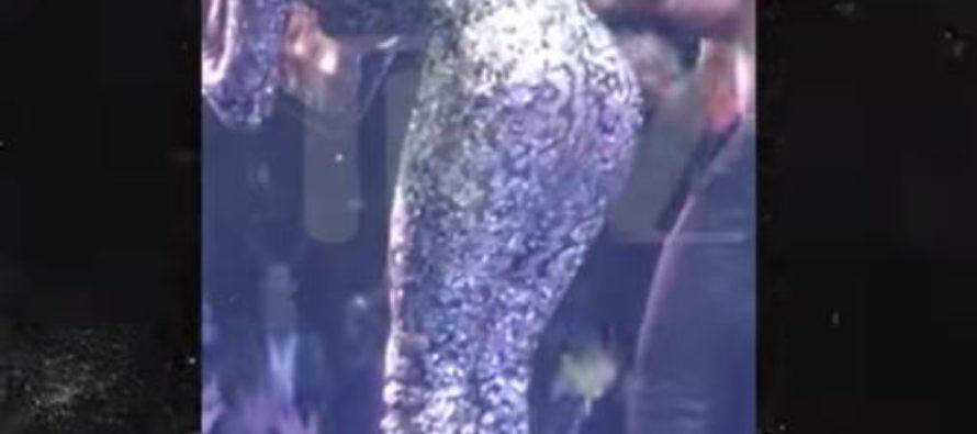 El día que a Jennifer López se le rompió el vestido durante un concierto en Las Vegas +Vídeo
