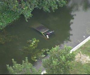 El cuerpo de un hombre fue descubierto dentro de un vehículo sumergido en el canal de Tamarac