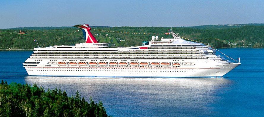¡Lamentable! Guardia Costera suspendió búsqueda del tripulante del Carnival Victory que cayó al mar