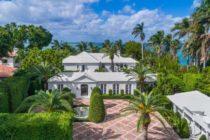 Vendieron espectacular mansión frente al mar en Miami Beach por $14.2 millones (Fotos y Video)