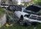 Cuatro heridos dejó espectacular choque de un camión en la autopista I-95