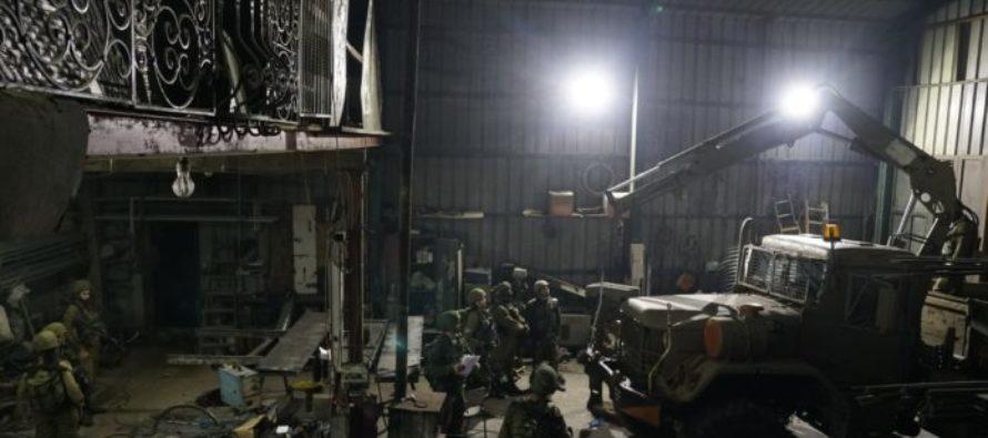 Fábrica clandestina de armas en Cisjordania fue descubierta por Israel