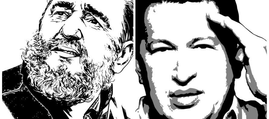 Narcotráfico: El arma de guerra con la que Fidel Castro conquistó a Chávez, según expertos