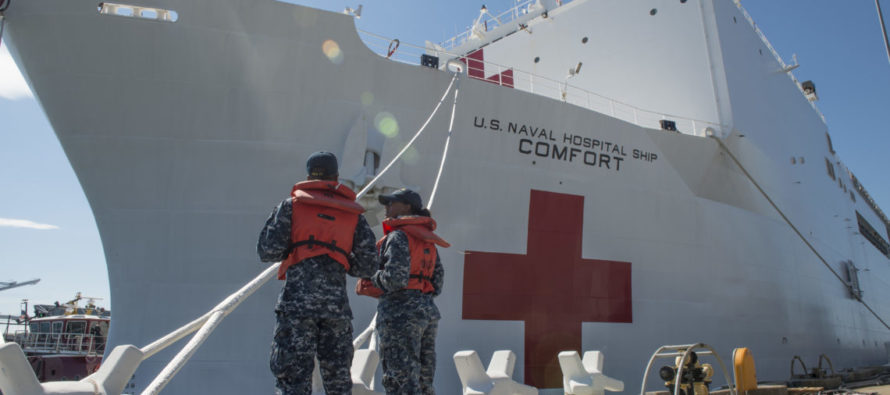 Embajador Vecchio y Mike Pence participarán en despliegue de misión humanitaria