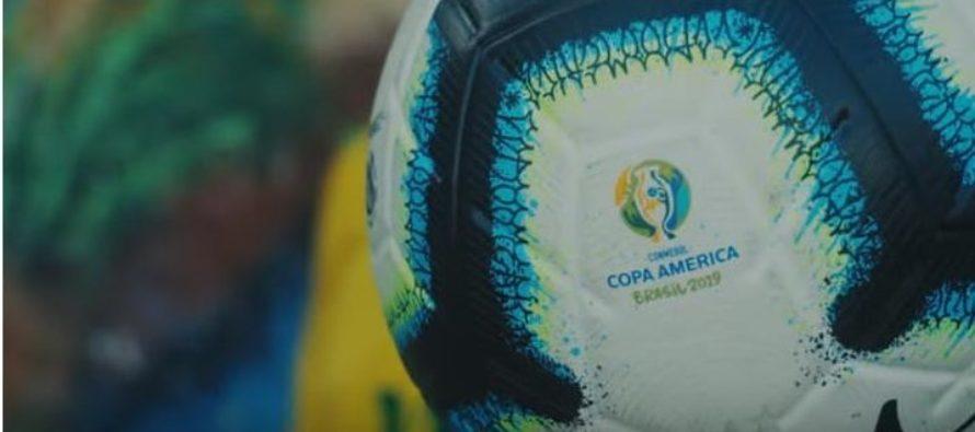 «Vibra continente» fue presentado como el nuevo tema oficial de la Copa América Brasil 2019
