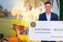 Un joven de Florida con orígenes cubanos recibió una beca musical por parte de la Fundación Celia Cruz