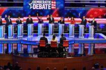 Segunda noche de debate de precandidatos demócratas en Miami