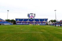 Independiente de Medellín y Peñarol empataron a tres goles en Miami