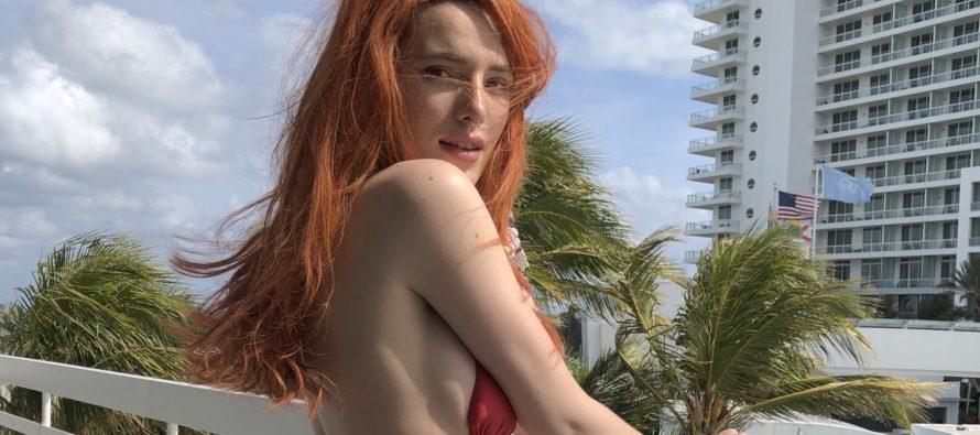 Bella Thorne y las fotos desnuda con su nueva novia que no te puedes perder