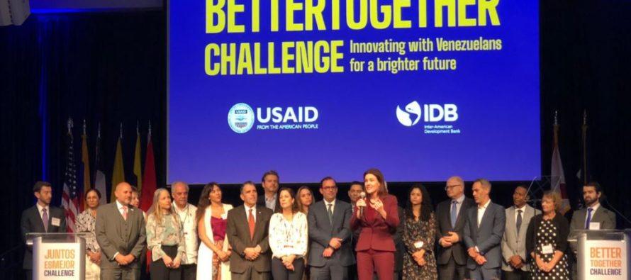 USAID y BID buscan apoyar a venezolanos en América Latina y el Caribe