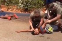 Manifestantes piden justicia para adolescente golpeado por un policía en Tamarac