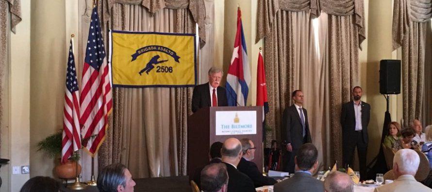 EE UU anunció nuevas sanciones contra Cuba, Nicaragua y Venezuela