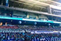 El Marlins Park recibió a los estudiantes de Florida para celebrar el Día de la Independencia de Israel