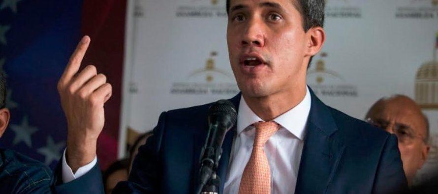 Juan Guaidó aseguró que la persecución es contra todos los que levantan la voz en Venezuela