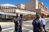 Una anciana resultó herida tras una demolición de edificio en Miami