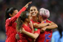 Estados Unidos debutó en el Mundial Femenino con goleada 13-0 ante Tailandia