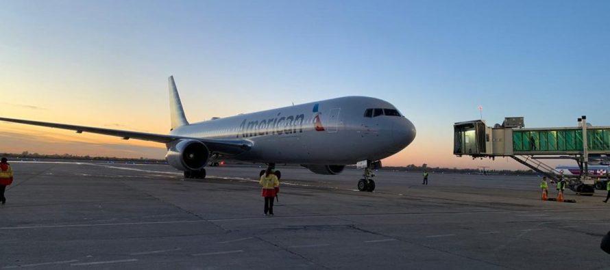 Este viernes se inaugurará la ruta Córdoba – Miami de American Airlines