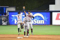 Los Marlins cayeron en extrainning ante Atlanta