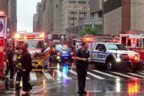 Al menos un muerto luego de que un helicóptero impactó contra un edificio en Nueva York