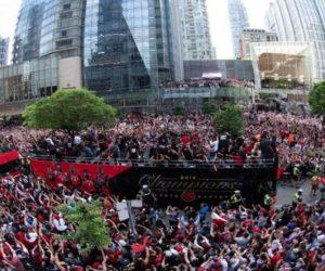 Reportan tiroteo en la celebración de los Raptors (video)