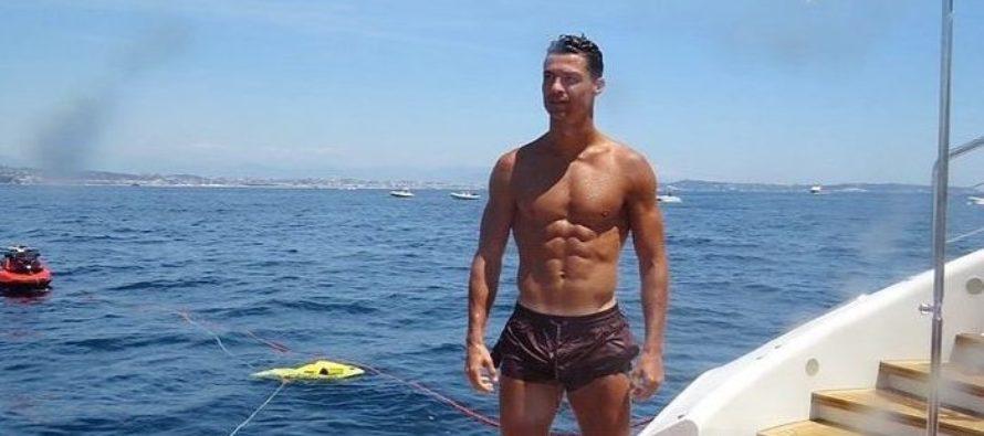 Usuarios de twitter se burlaron de una foto «familiar» de Cristiano Ronaldo (+Tweets)