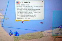 Entró en aguas venezolanas Guardacostas de EEUU CG James