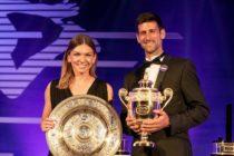 Novak Djokovic y Simona Halep fueron los campeones individuales de Wimbledon 2019