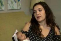 ¡Solo en Florida! Dio a luz una hermosa bebé sin saber que estaba embarazada