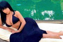 Demi Rose mostró pecaminosas fotos de su trasero con diminuto bikini en la playa
