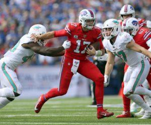 Dolphins siguen dando pena y cayeron ante Bills