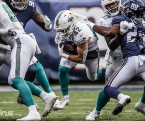 Dolphins se llevaron su derrota 11 de la campaña en Nueva Jersey