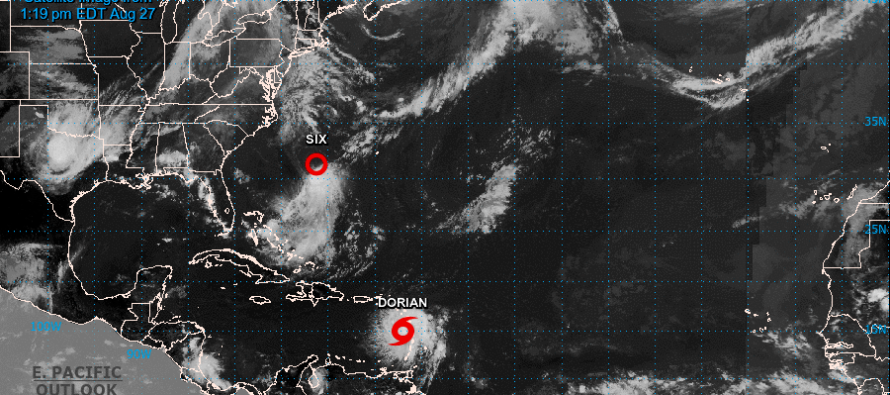 Florida bajo amenaza ante el paso de la tormenta tropical Dorian
