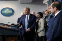 Grupo de trabajo y Trump piden a estadounidenses evitar lugares públicos los próximos 15 días (video)