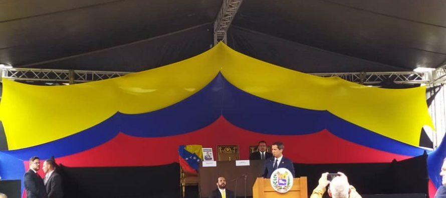 Asamblea Nacional de Venezuela aprobó por unanimidad solicitar ayuda militar exterior